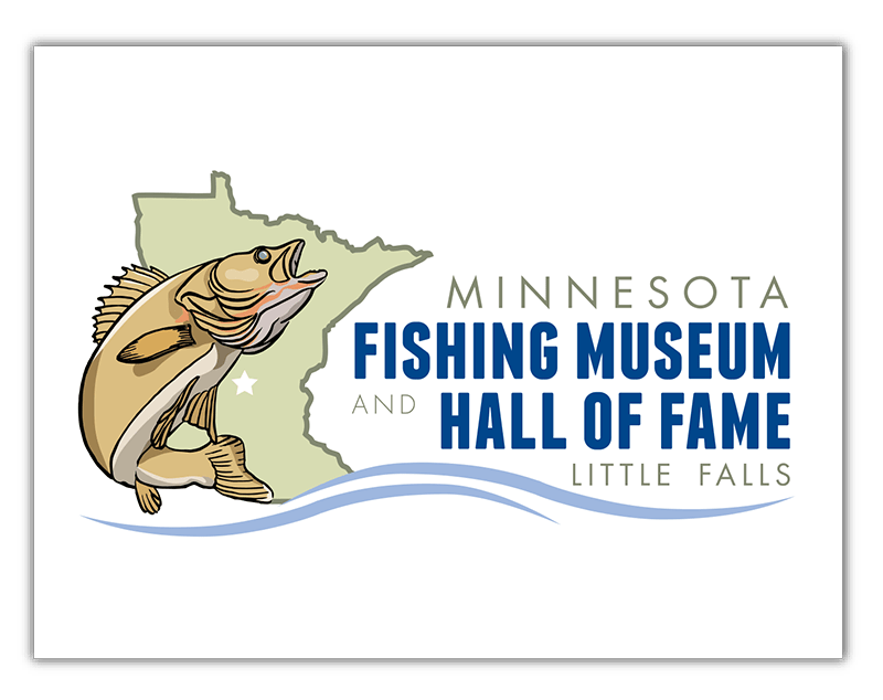 Minnesota Fishing Museum and Hall of Fame Logo