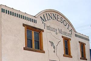 Exterior of Minnesota Fishing Museum