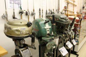 Vintage outboard motors